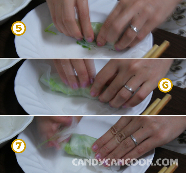 How to roll Pho